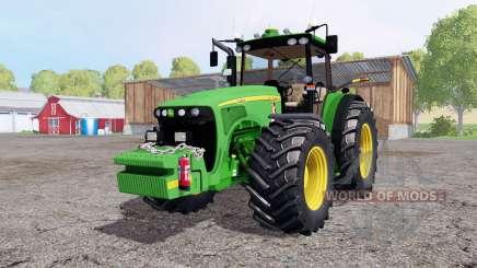 John Deere 8520 weight for Farming Simulator 2015