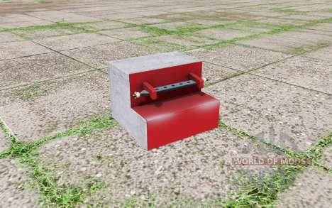 Rear weight for Farming Simulator 2017