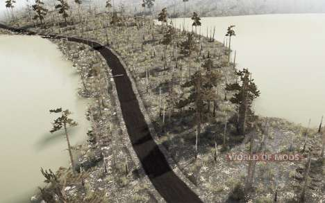 The harsh taiga 3 - Swamps for Spintires MudRunner