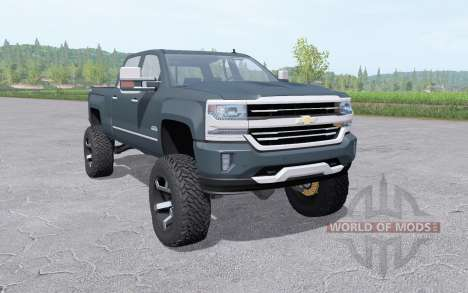 Chevrolet Silverado 1500 High Country 2016 lift for Farming Simulator 2017