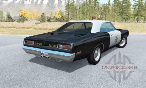 Dodge Coronet California Highway Patrol v1.1 for BeamNG Drive