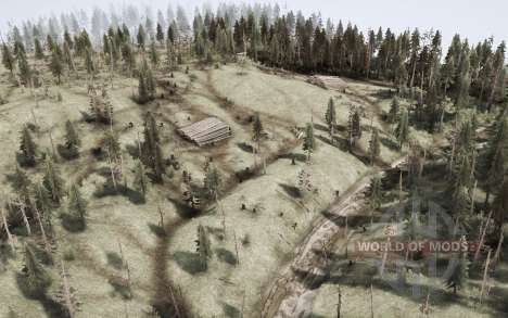 The harsh taiga 4 - Crossing the river for Spintires MudRunner