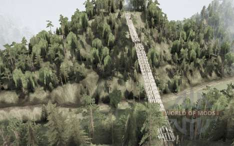 District Anshan. The City Shijie for Spintires MudRunner