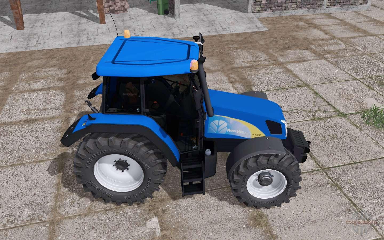 New Holland T5050 v3 0 for Farming Simulator 2017