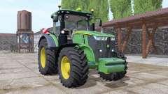 John Deere 7290R v3.1 for Farming Simulator 2017