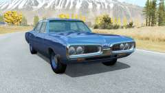 Dodge Coronet sedan (WP41) 1970 v2.2 for BeamNG Drive