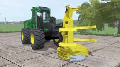 John Deere 643K for Farming Simulator 2017