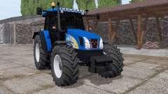 New Holland T5050 v3.0 for Farming Simulator 2017