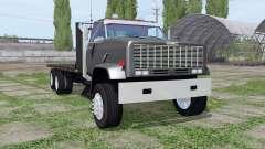 GMC 9500 flatbed for Farming Simulator 2017