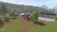 Montana - Black Mountain v2.0 for Farming Simulator 2017