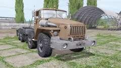 Ural 6614 is a loader v2.0 for Farming Simulator 2017