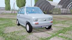 Fiat 126p 1973 for Farming Simulator 2017