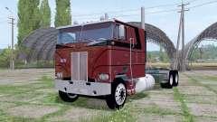 Peterbilt 352 6x6 tractor Cab Over for Farming Simulator 2017