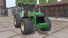 John Deere 8410 v3.0 for Farming Simulator 2017