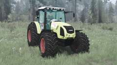 CLAAS Axos 330 for MudRunner