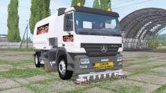 Mercedes-Benz Actros (MP2) balayeuse for Farming Simulator 2017