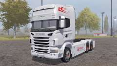 Scania R-series hooklift for Farming Simulator 2013
