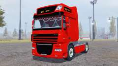 DAF XF105 FT Super Space Cab for Farming Simulator 2013