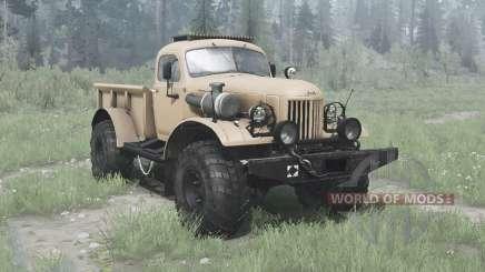ZIL 157 4x4 Lumberjack for MudRunner