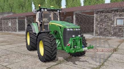 John Deere 8130 real sound for Farming Simulator 2017