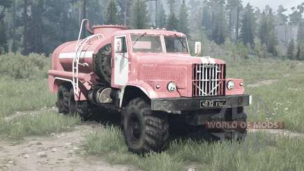 KrAZ 255B AC 8.5 for MudRunner