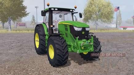 John Deere 6210R interactive control for Farming Simulator 2013