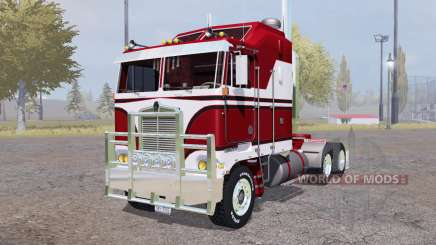 Kenworth K100 red for Farming Simulator 2013