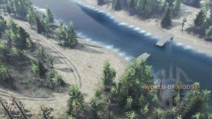 River for Spin Tires
