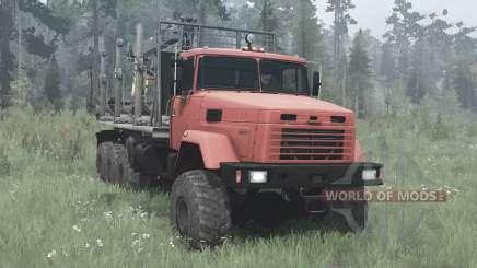 KrAZ-7140Н6 for MudRunner