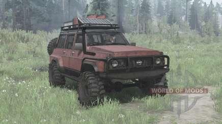 Nissan Patrol GQ 5-door (Y60) for MudRunner