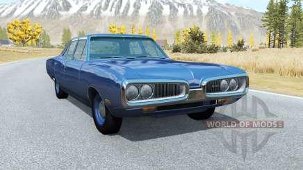 Dodge Coronet sedan (WP41) 1970 v2.2 for BeamNG Drive