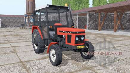 Zetor 6211 realistic smoke for Farming Simulator 2017