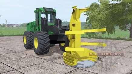 John Deere 643K for Farming Simulator 2017