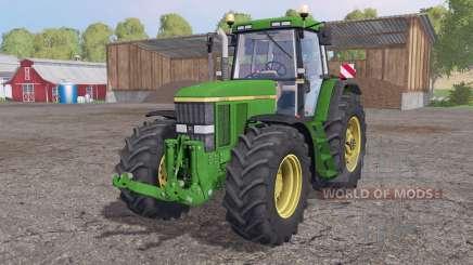 John Deere 7810 animation parts for Farming Simulator 2015