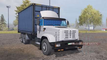ZIL 6309 container v2.0 for Farming Simulator 2013