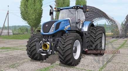 New Holland T7.290 dual rear for Farming Simulator 2017