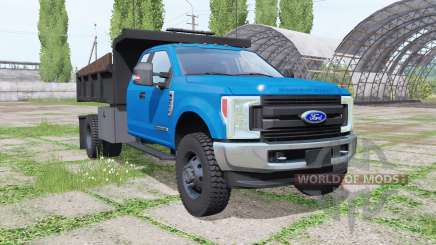 Ford F-550 Super Duty Extended Cab 2017 for Farming Simulator 2017