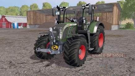 Fendt 718 Vario SCR IC control for Farming Simulator 2015