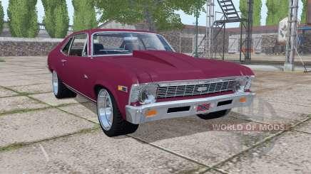 Chevrolet Nova SS 396 1969 v1.0.0.2 for Farming Simulator 2017