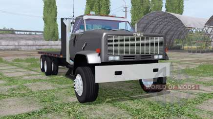 GMC 9500 flatbed for Farming Simulator 2017