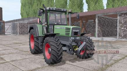 Fendt Favorit 509C for Farming Simulator 2017