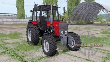 MTZ-820 Belarus v2.0 for Farming Simulator 2017