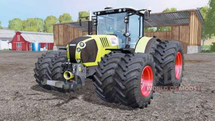 CLAAS Arion 650 twin whеels for Farming Simulator 2015