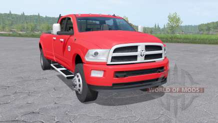 Dodge Ram 3500 Heavy Duty Crew Cab v1.5 for Farming Simulator 2017