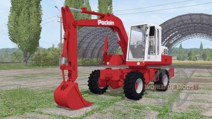 Poclain 60 for Farming Simulator 2017