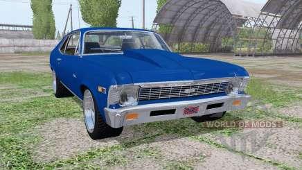 Chevrolet Nova SS 396 1969 for Farming Simulator 2017