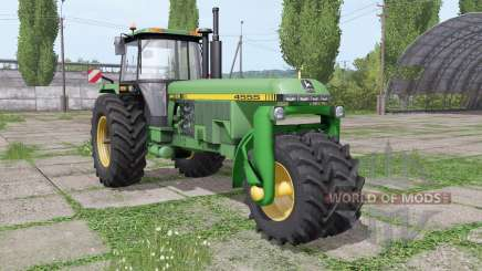 John Deere 4555 trike v3.0 for Farming Simulator 2017