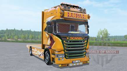 Scania R Topline Lupal v1.0.0.2 for Farming Simulator 2017
