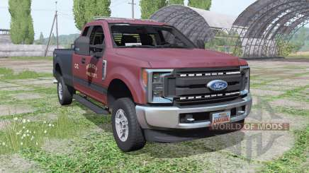 Ford F-250 Super Duty XL FX4 Super Cab 2016 for Farming Simulator 2017