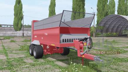 UNIA Tytan 10 for Farming Simulator 2017